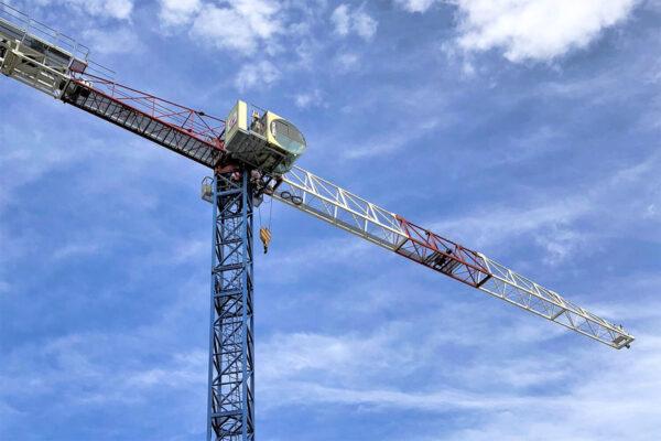 Raimondi MRT144 topless tower crane