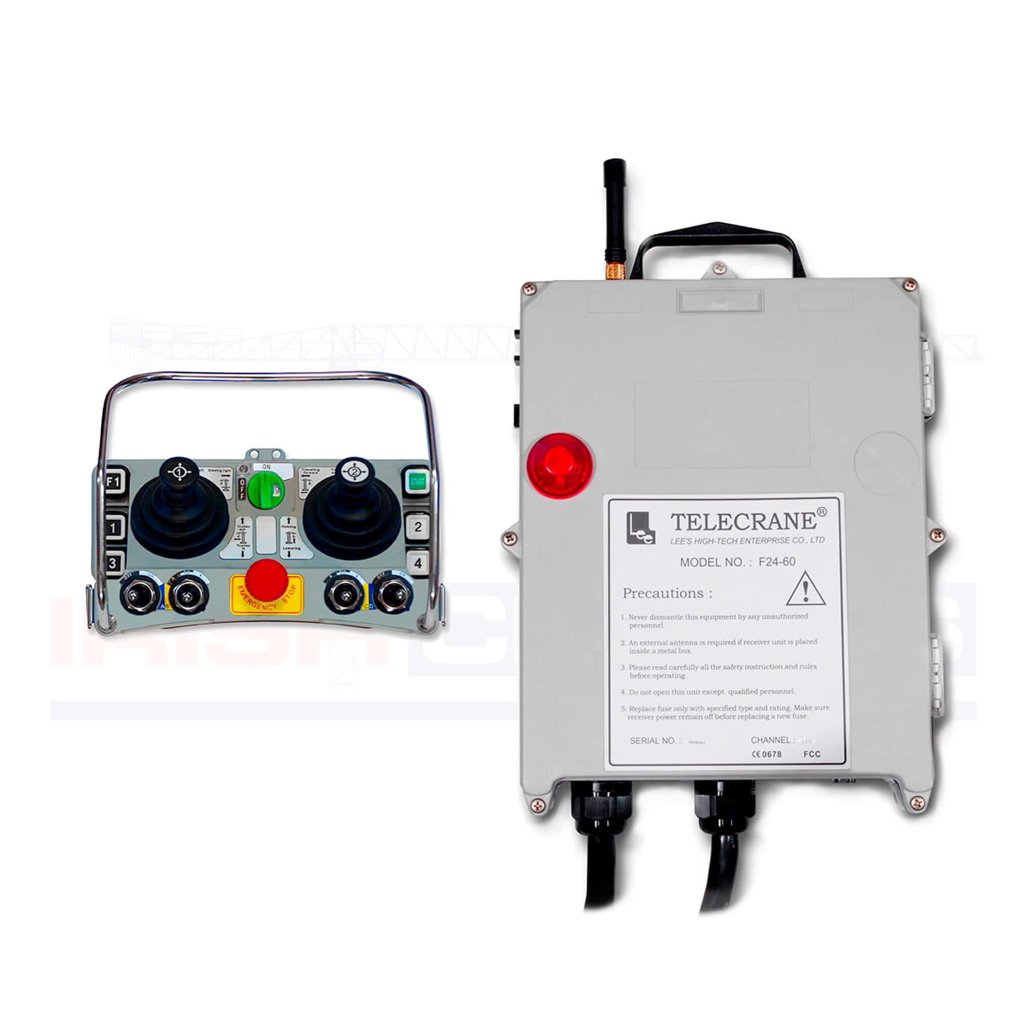 Silver JOY F24 60 PLL remote control