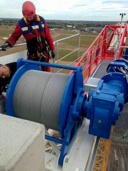 on site crane repairs
